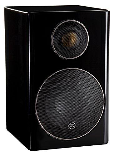 Monitor Audio - Radius 90 Mini Monitor Speakers- Pair (Black)