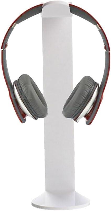 Universal Acrylic Earphone Headset Hanger Headphone Stand Holder Desk Display