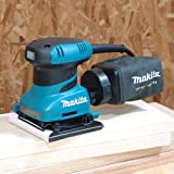 Makita BO4556 2 Amp Finishing Sander, Teal