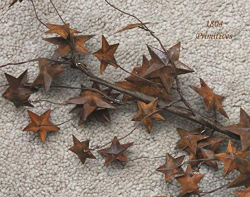 (Inspiration for A Project Ornament 58'' Dimensional Rusty Tin Star Garland ~ Great for Crafts DIY Rustic Primitive Decor Ideas)