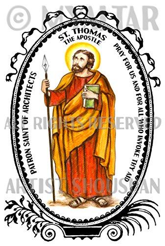 Apostle St Thomas Patron Saint of Architects 4
