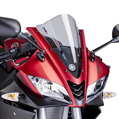 Racing Scheibe Puig Yamaha YZF -R125 2008-2015 leicht getö nt 30% Verkleidungsscheibe Puig Screen 4637H