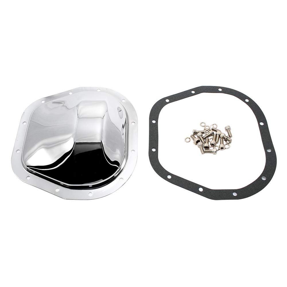Assault Racing Products A9466 Ford 12 Bolt 10.5in Ring Gear Chrome Steel Rear Differential Cover with Sterling Ring Gear