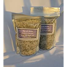 The Salt Baron Dead Sea Salt, Natural Lavender Mineral Bath Salt,Coarse Grain