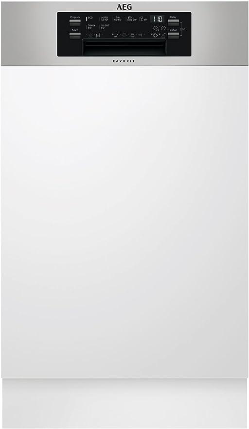 AEG FEE63400PM Semi-incorporado 9cubiertos A+++ lavavajilla ...