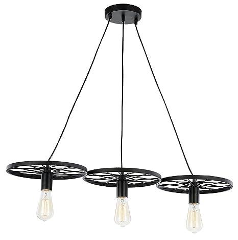 Base de Lámpara de Techo Colgante con Diseño Industrial con ...