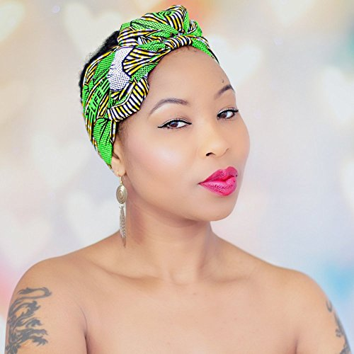 STUNNING Hijab African HeadWrap African Fabric Scarf Headband Chic Collection Light Weight African Head Wrap Turban ROYAL HEAD WRAPS