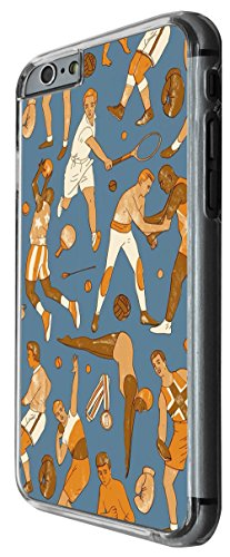 1218 - Sport Collage Swiming Tennis Football Basketball Design For iphone 5C Fashion Trend CASE Back COVER Plastic&Thin Metal -Clear