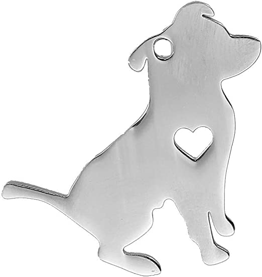 30Pcs Antique Silver Charms Pendants 3D Cute Puppy Terrier Dog Jewelry Craft