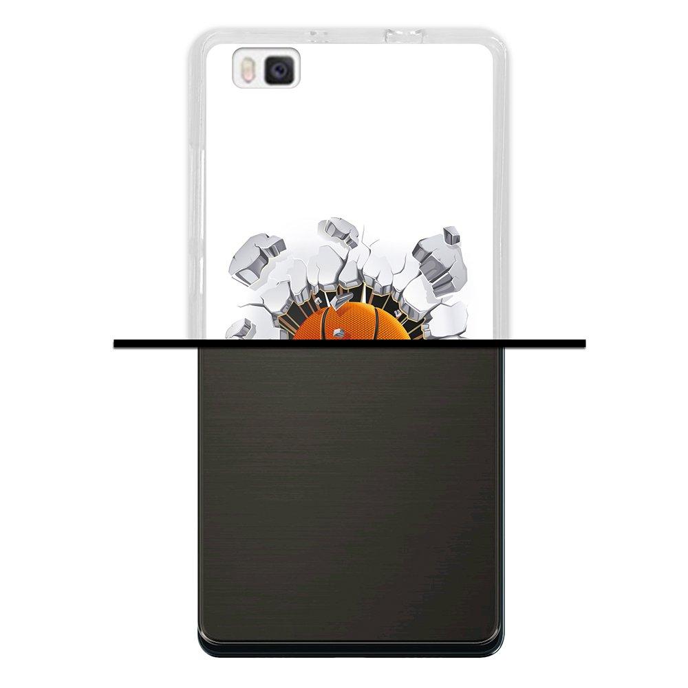 WoowCase Funda para Huawei P8 Lite, [Huawei P8 Lite ] Silicona Gel ...