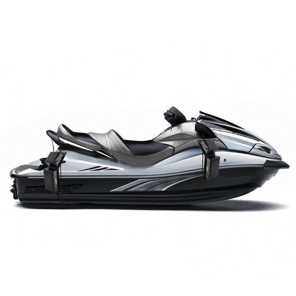 kemimoto PWC Boat Bumper Fender Docking Protection Kit for Seadoo Jet Ski Waverunner 13.5x5x2.56 with 2 Ropes VicsaWin