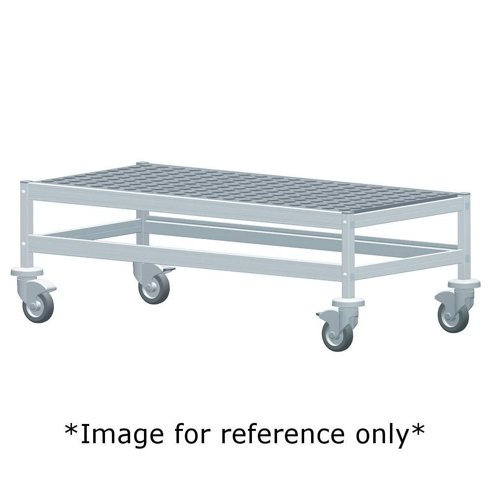 800 lbs Max Shelf Weight Fermod 1R26C12M Fermostock Mobile Dunnage Rack 26W x 22D x 17H
