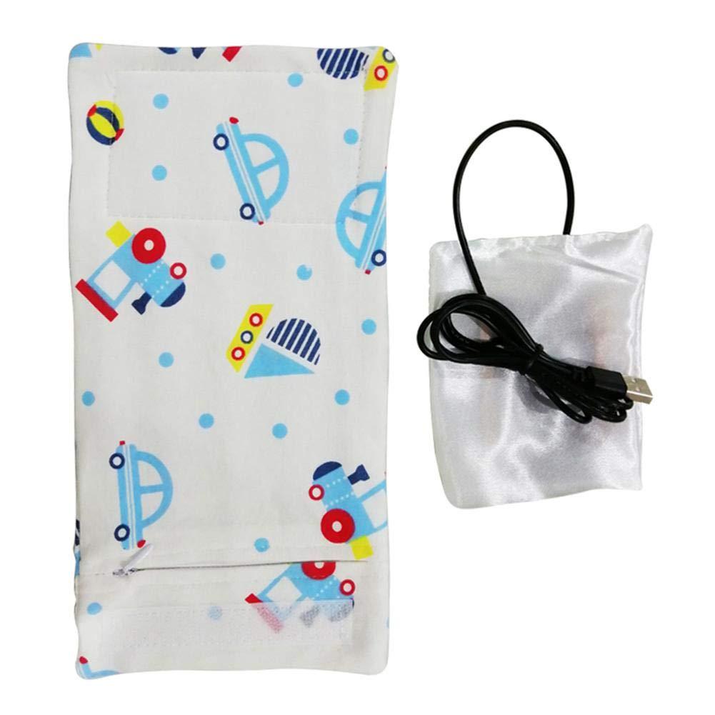 Calentador de biberones USB para bebés, bolsa para calentar ...