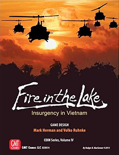 Fire in the Lake - Infiltration Board Game