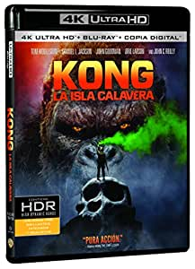 Kong: La Isla Calavera (4K Ultra HD + Blu-ray + Copia Digital) [Blu-ray]