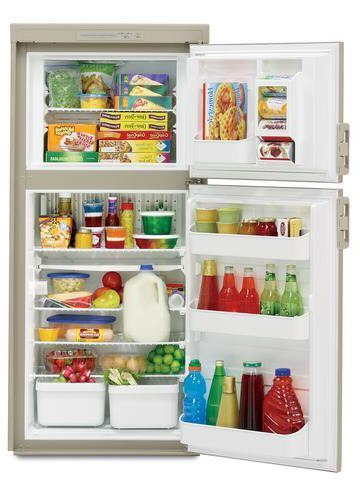 Dometic DM2652RB Americana Double Door RV Refrigerator - 2-Way, 6 Cu. Ft by Dometic