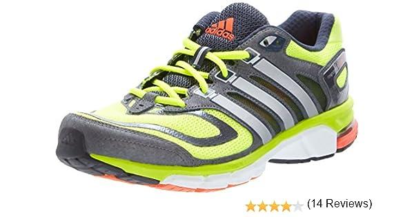 adidas Performance Response Cushion 22 M - Zapatillas de Correr de Material sintético Hombre, Color Amarillo, Talla 40: Amazon.es: Zapatos y complementos