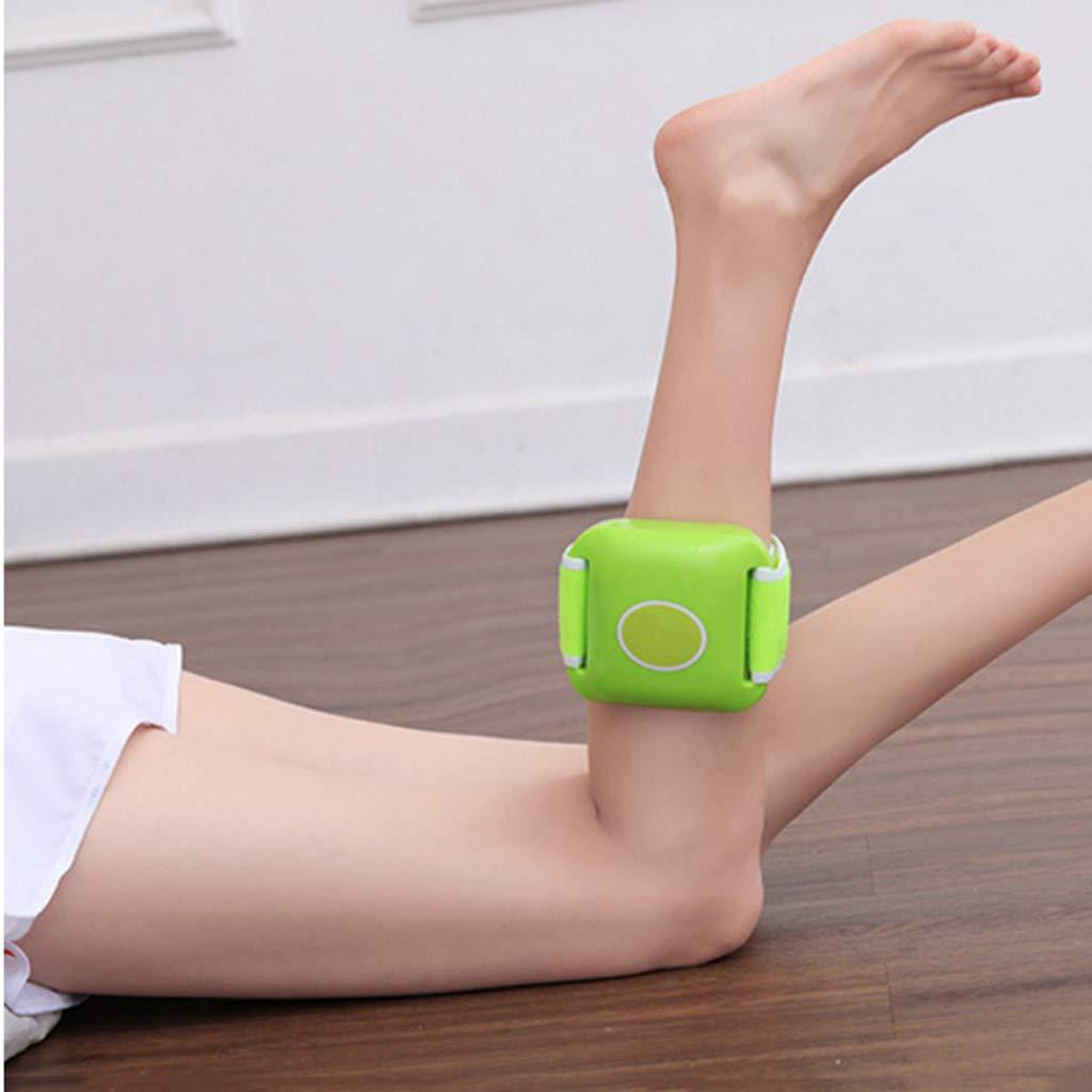 JHEY M/áquina de Batidos P/érdida de Peso para Adelgazar Cintur/ón de Masaje Delgado Vientre Stovepipe Que Adelgaza la m/áquina Color : Green