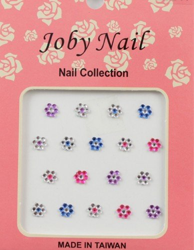 Nail Sticker/ Nail Art - Gemstone Collection - Flowers - Joby Nail