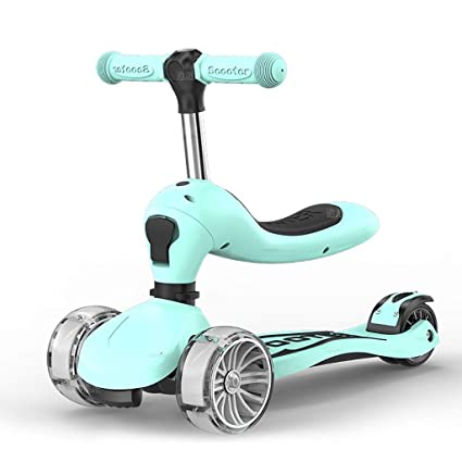 Amazon.com: Kick Scooter - 3-in-1 Folding Scooter with ...