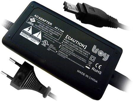 Troy Netzteil Adapter Ladegerät Für Sony Digital Kamera