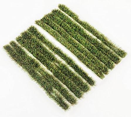 Amazon com: 6mm Autumn Grass Tufts Strips x 10 by WWS Model