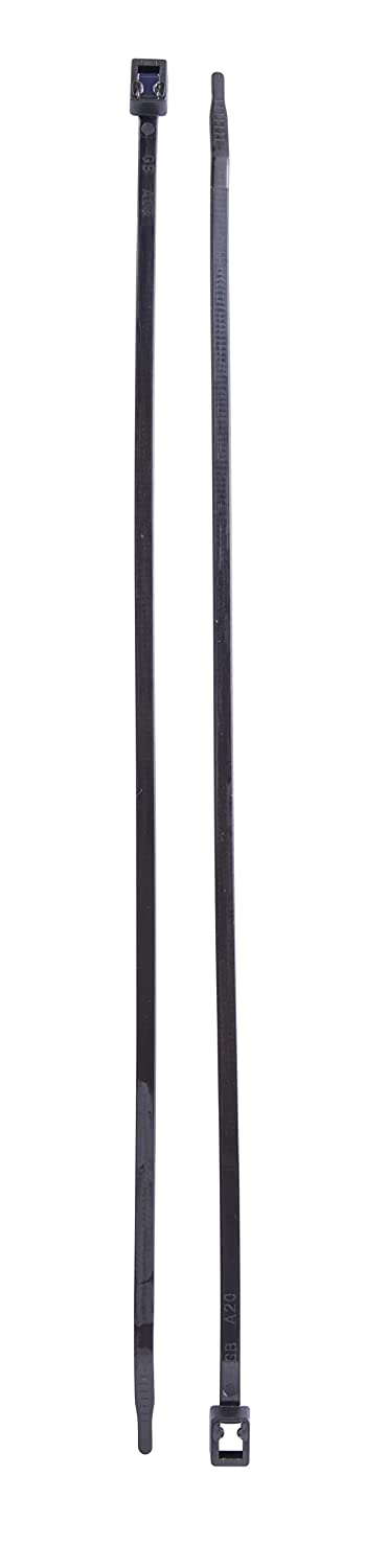 Natural 20 Pack Piece 11 inch Cable Tie Calterm 74501 Self-Cutting Nylon