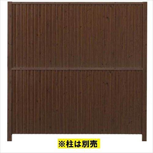 タカショー シンプルログユニット3型パネル (H1860タイプ) 片面 『木調フェンス 柵』 レッドウッド B00Q1FXBLI 本体カラー:レッドウッド