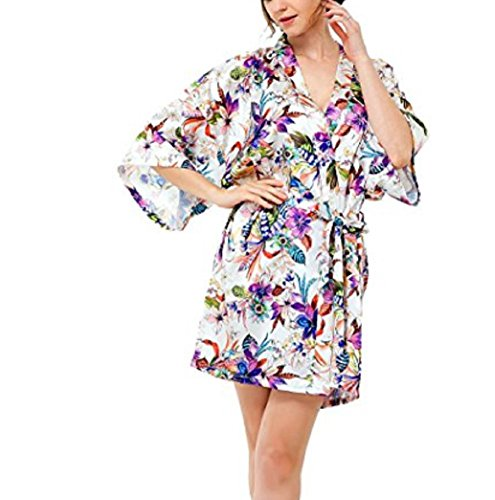 French Floral Robe - 9