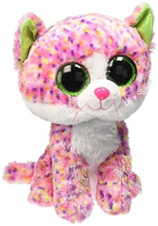 Amazon.com  TY Beanie Baby-ty37054-Plush-Beanie boo  Sophie the Cat-Small-Medium  by Ty  Toys   Games be3b09086519