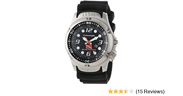 Amazon.com: Freestyle Mens 101947 Hammer Hear Analog Display Japanese Quartz Black Watch: Freestyle: Watches