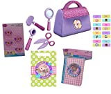 DOC McStuffins Birthday Party Supplies. DOC McStuffins Favors Pack, DOC McStuffins Hair Bands, Activity Books and DOC McStuffins Favors Goddies Bags