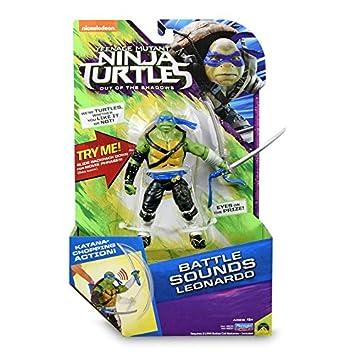 Tortugas Ninja - Movie 2 Leonardo con Sonido (Giochi ...