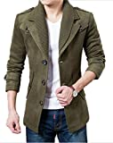 Product review for Men's Casual Slim Fit Single Breasted Woolen Premium Blazer Jacket Overcoat