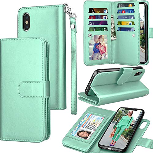 Tekcoo for iPhone Xs Max Wallet Case/iPhone Xs Max Flip Cover, 6.5