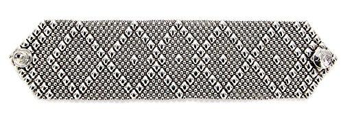 Antique Silver Bracelet B10-AS SG Liquid Metal by Sergio Gutierrez - 3 sizes (7.5 Inches)