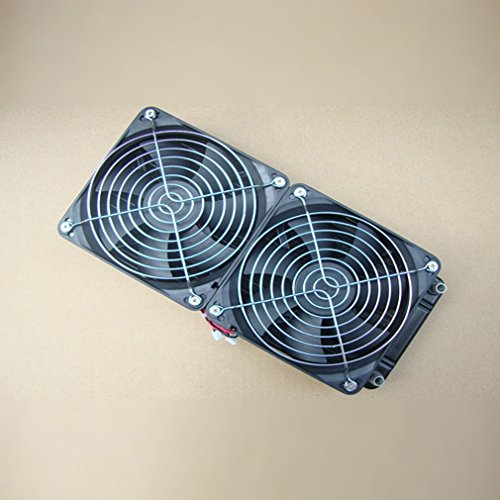 Qulable Pure Aluminum 240mm Water Cooling Radiator Water Cooler Heat Exchanger by Qulable