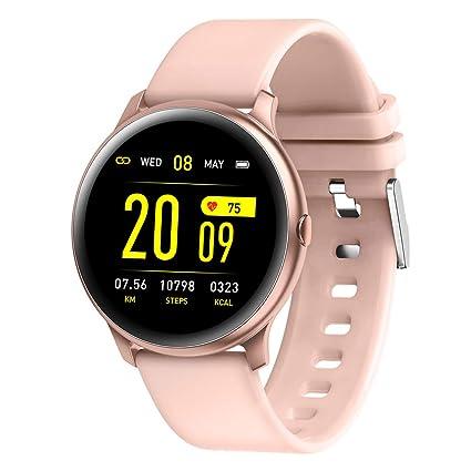 HKPLDE Smartwatch/Fitness Tracker Podómetro Pulsómetro ...
