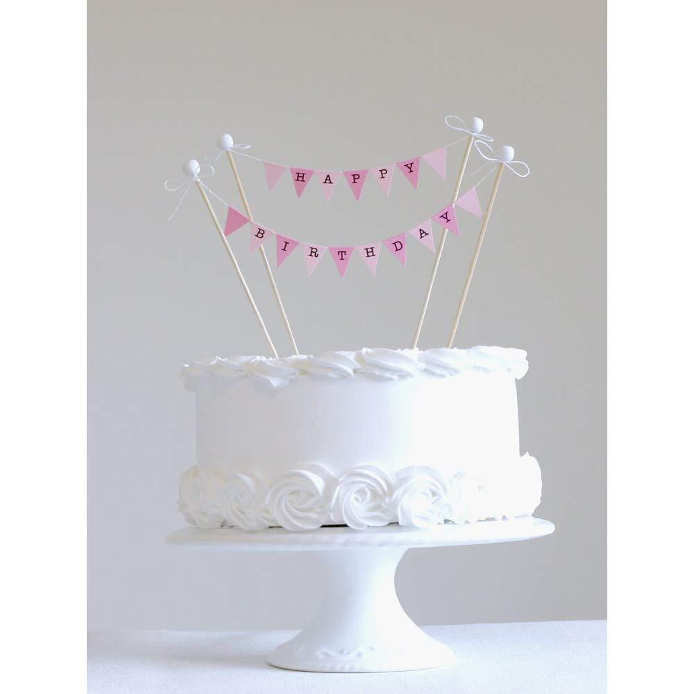 Jjonlinestore Kuchen Dekoration Mit Zwei Wimpelketten Und