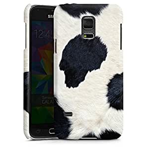 Samsung Galaxy S2Funda Premium Case Protección cover vaca Look Vaca