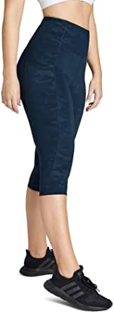Rockwear Activewear Women's 3/4 Printed Pocket Tight from Size 4-18 for 3/4 Length High Bottoms Leggings + Yoga Pants+ Yoga Tights
