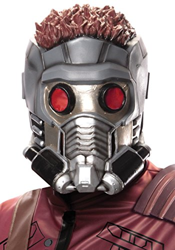 Lord Costume Mask Star (Rubie's Men's Guardians of the Galaxy Star-Lord Costume Accessories, GOTG,)