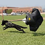 Xdog- Resistance Parachute Attachment for The Vest, Improve Your Dogs Workout, Training, Health and Cardiovascular System - Speed Chute with Free Bag Included.