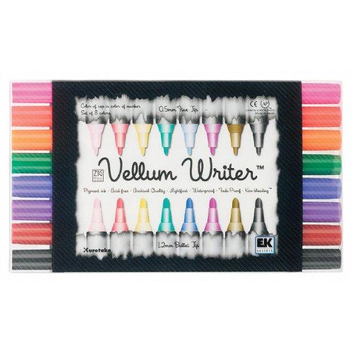 Ek Success Writer - EK Success Vellum Writer Markers, 8 Per Pack