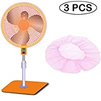 12- 16 Microfiber Round Fan Filters, 3pcs Summer Fan Safety Nets/fan Dust Dustproof Mesh Cover to Protect Baby Finger