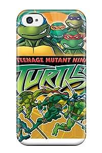 Rugged Skin Case Cover For Iphone 4/4s Eco Friendly Packaging Teenage Mutant Ninja Turtles 31