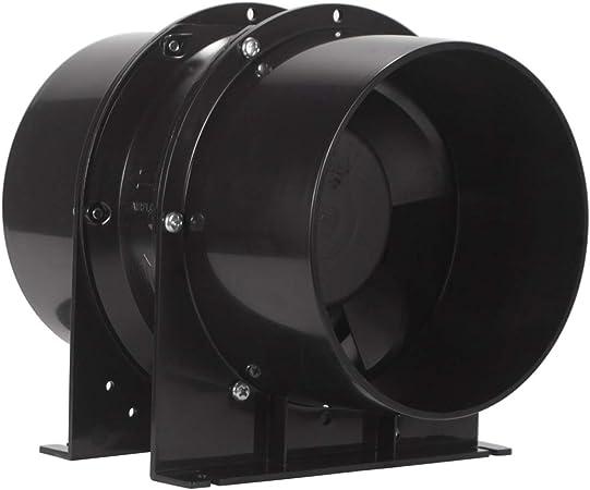 15,2 cm Inline-Rohrventilator Wachstumszelte Hydrokultur HG Power Bel/üftung Abluftventilator Kanalventilator f/ür Heizung K/ühlung Booster HVAC-System