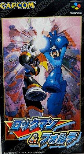 Rockman & Forte (Megaman and Bass), Super Famicom - Megaman For Super Nintendo