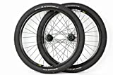 27.5 inch Mavic / Shimano Mountain Bike ATB Wheels Disc Brake Black Wheel Set With Continental Race King Tires and Tubes!
