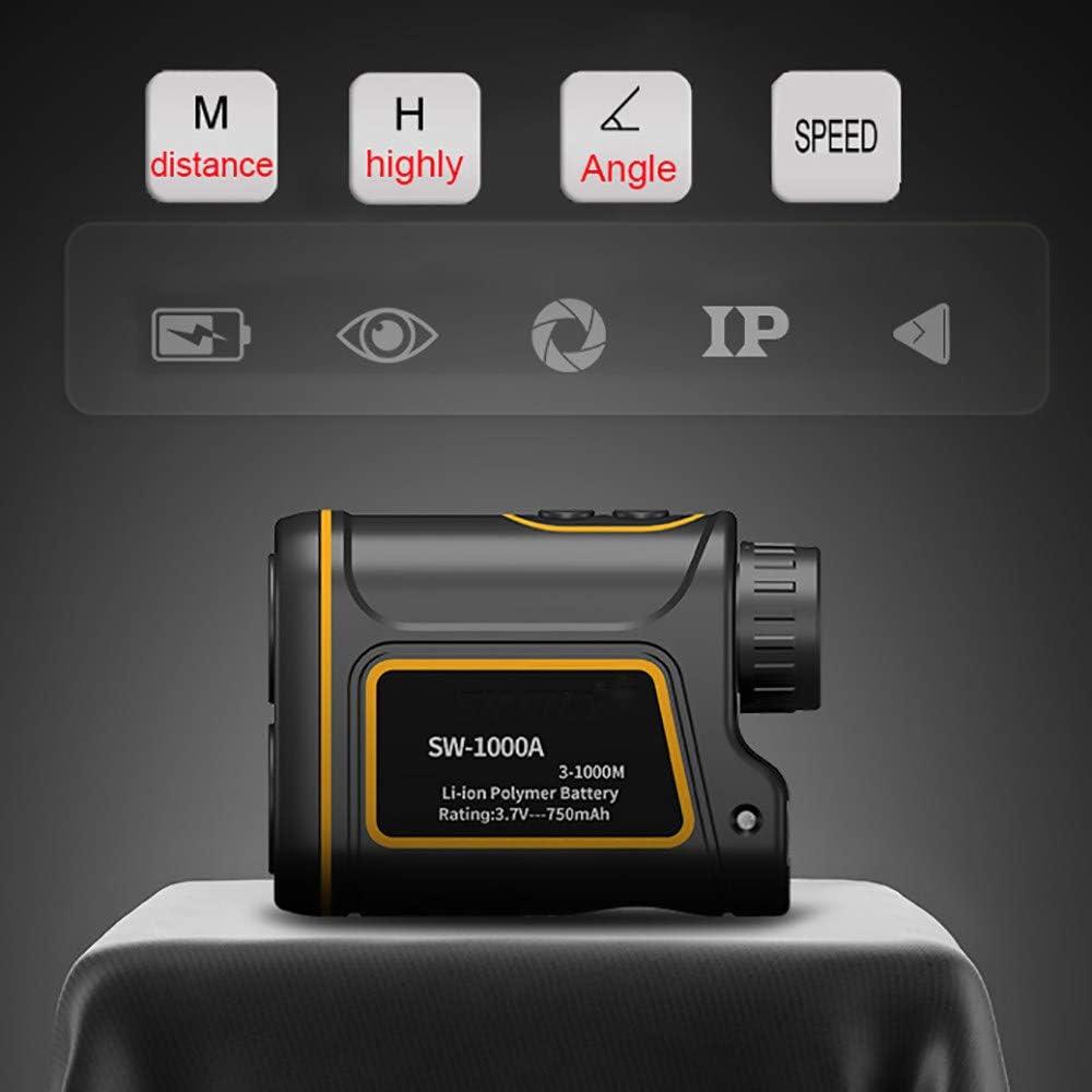HEWXWX USB Multi-FuncióN De Carga Telescopio TeléMetro 600 A 1500 Medidores De Mano Al Aire Libre TeléMetro. TeléMetro De Golf. Altura/ÁNgulo/Velocidad/Distancia,Usb-charging-1500M